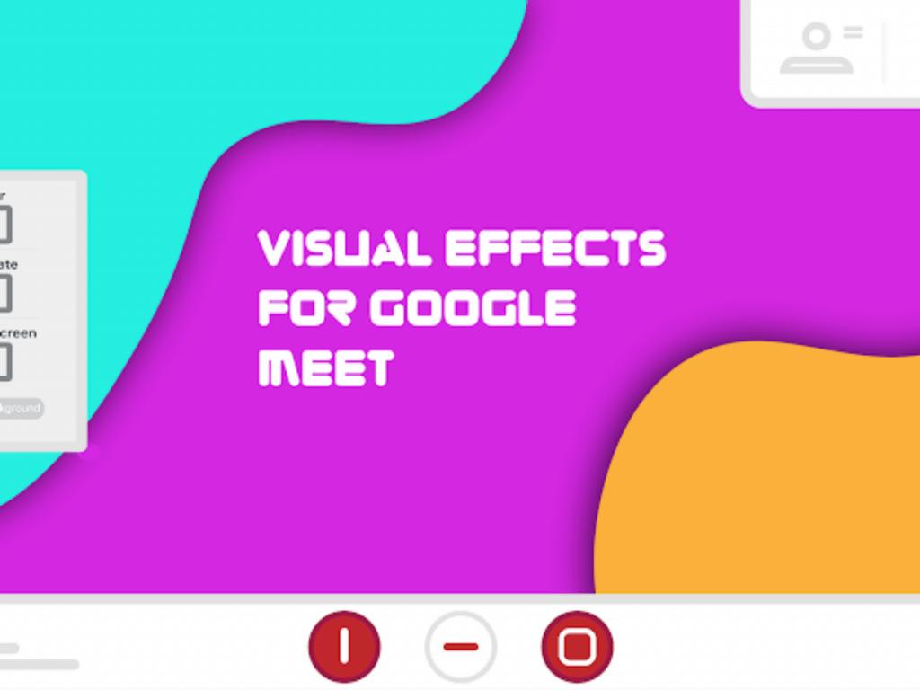 visual effects de Google Meet