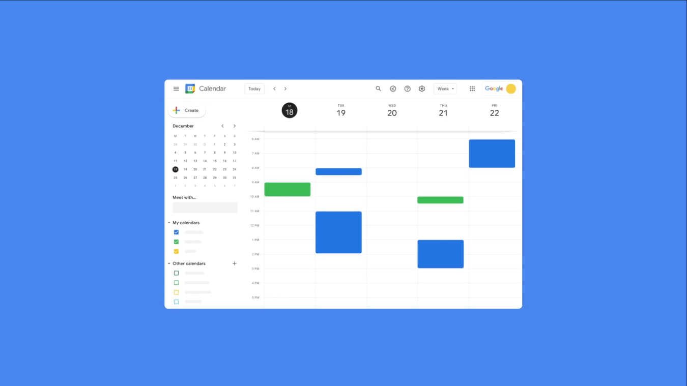 google workspace nuevo icono calendar