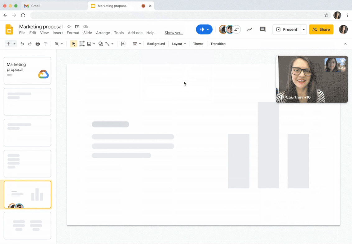 video pip google workspace