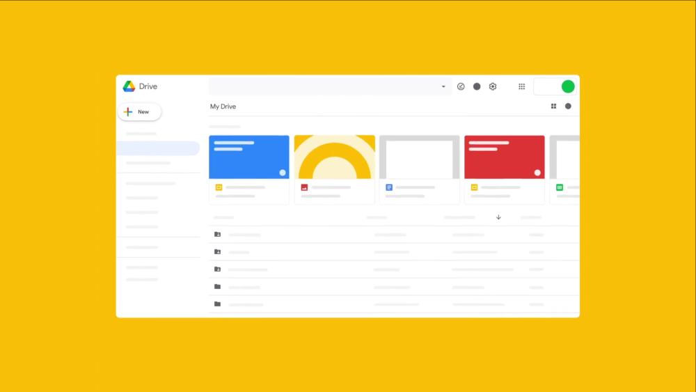 google workspace nuevo google drive